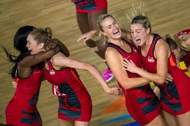 England stunned Australia in the netball final