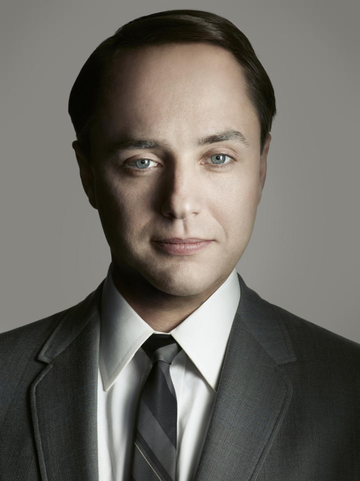 "Vincent Kartheiser stars as Pete Campbell in ""<a target=""_blank"" href=""http://tv.yahoo.com/mad-men/show/39828"">Mad Men</a>."""