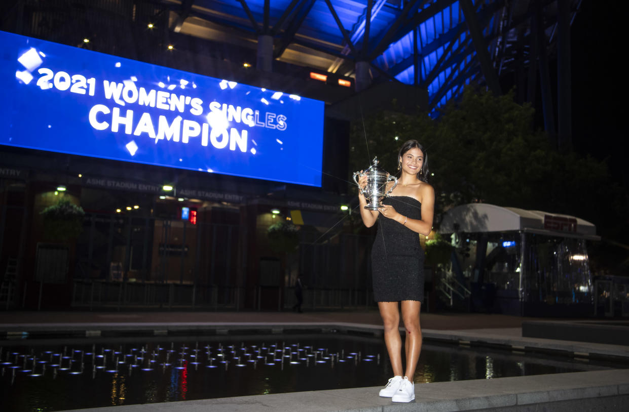 She has become the new British number one after securing her first Grand Slam. (Getty Images)