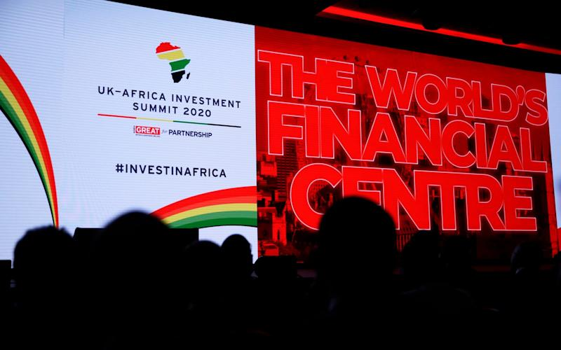 The UK-Africa investment summit – attended by 21 African delegations – comes ahead of the UK's exit from the European Union - Getty Images Europe