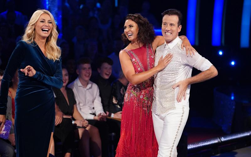 Emma Barton and Anton Du Beke have been paired in this year's competition - PA