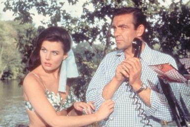 Picture of Sean Connery and Eunice Gayson in