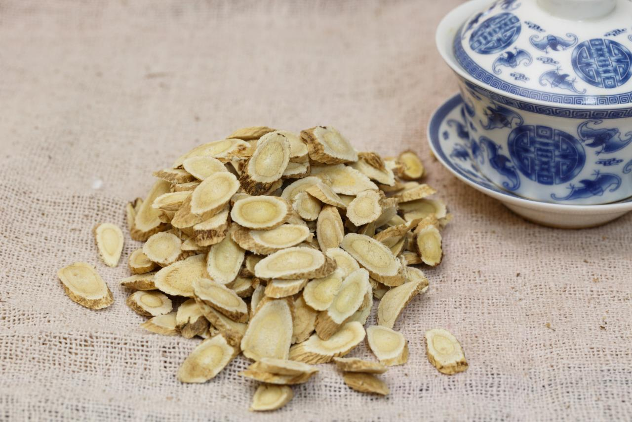 """Consider healing herbs. """"Astragalus is well known for its immune-system support,"""" Lam says. """"Ginseng helps to give the body a burst of energy so the body can fight infection."""" She also suggests medicinal mushrooms like reishi, maitake, and turkey tail."""
