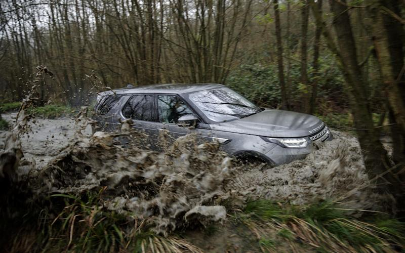Muddy marvellous: discover what your Land Rover can really do on one of the company's off-road experiences