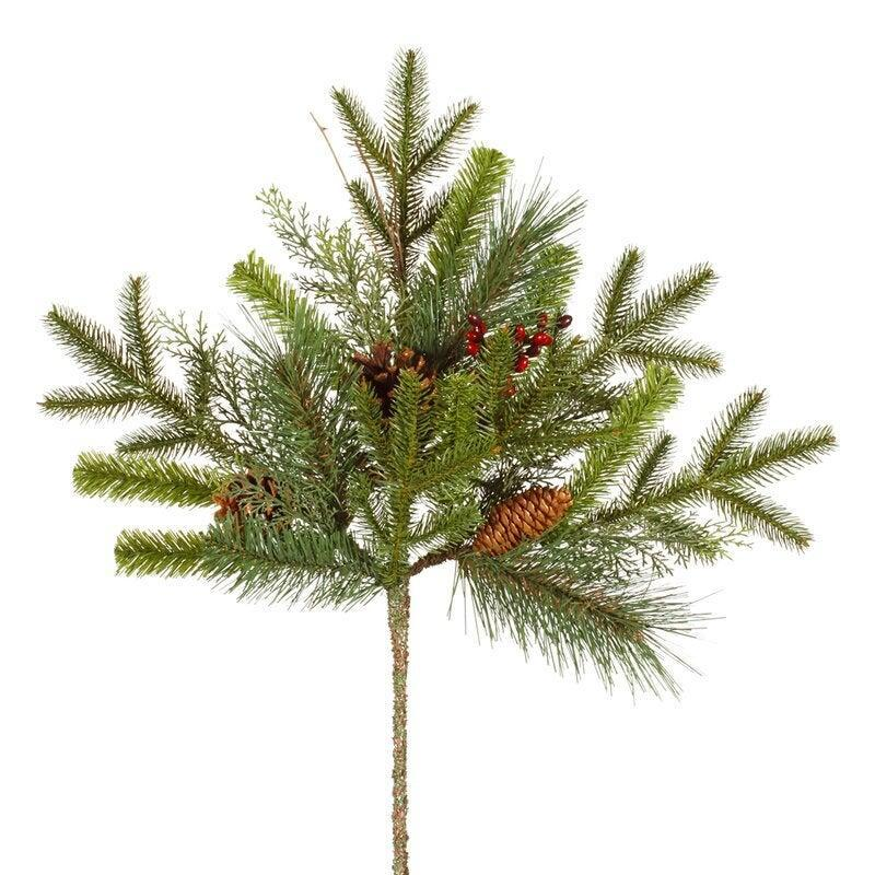 """<br><br><strong>The Holiday Aisle</strong> Mixed Berry Christmas Branch, $, available at <a href=""""https://go.skimresources.com/?id=30283X879131&url=https%3A%2F%2Fwww.wayfair.com%2Fdecor-pillows%2Fpdp%2Fthe-holiday-aisle-mixed-berry-christmas-branch-in-pot-vco12638.html"""" rel=""""nofollow noopener"""" target=""""_blank"""" data-ylk=""""slk:Wayfair"""" class=""""link rapid-noclick-resp"""">Wayfair</a>"""