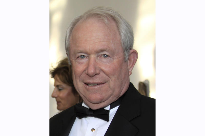 This April 17, 2010 photo shows William Sanders attending the Bedazzled Gala in El Paso, Texas. Sanders, the Democratic presidential candidate Beto O'Rourke's father-in-law, is a wealthy real estate investor and has helped make the former Texas congressman and his wife millionaires. Sanders also contributed to O'Rourke's bids for El Paso City Council, Congress, Senate and now the presidency. O'Rourke's campaign says Sanders plays no role. Still, O'Rourke, known as a champion of little-guy values, might never have made it on the national stage without the help of his father-in-law. (Stacy Kendrick, El Paso Inc. via AP)