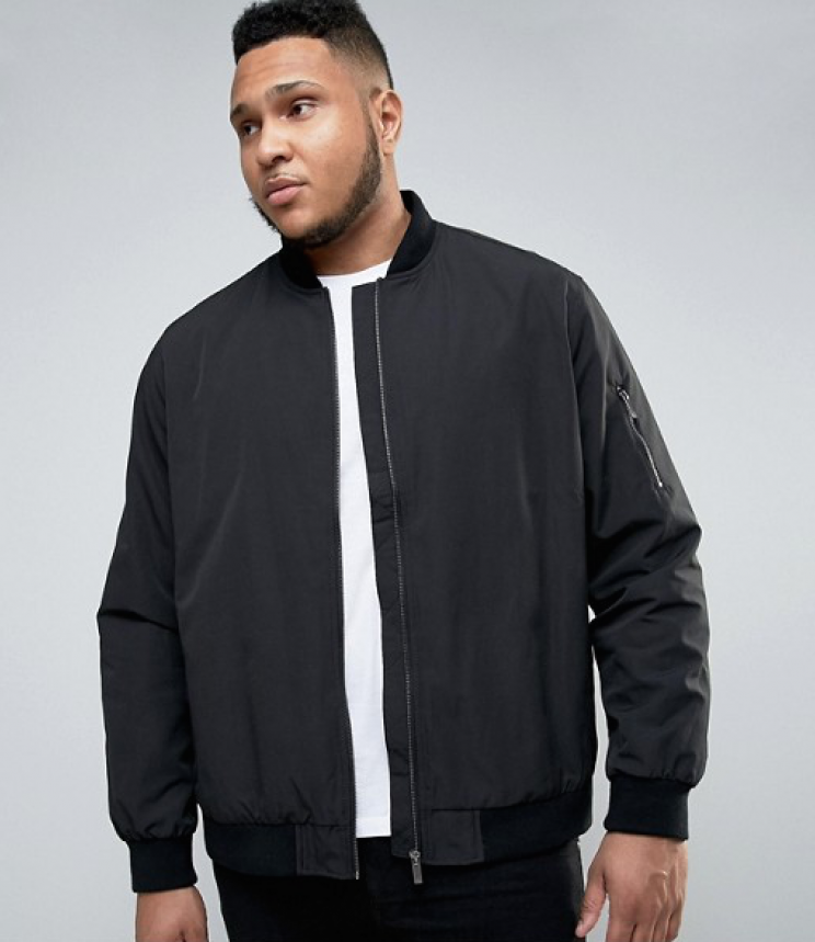 ASOS have launched a dedicated plus-size section for men [Photo: ASOS]
