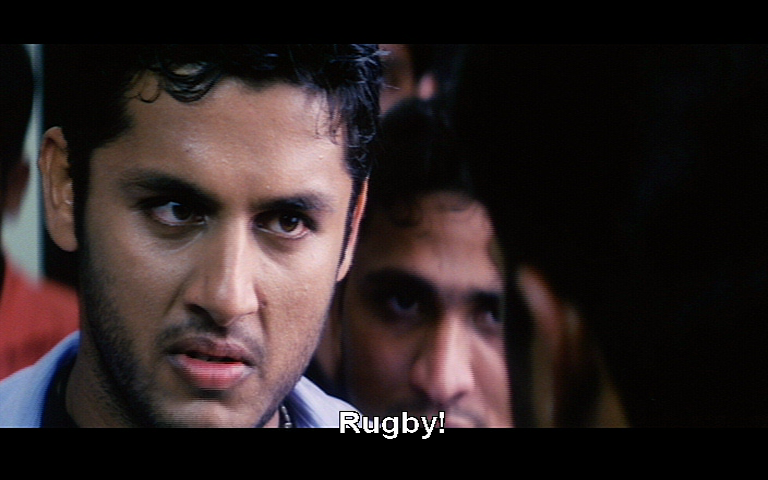 This one's definitely about rugby (Sri Bharath Enterprises).