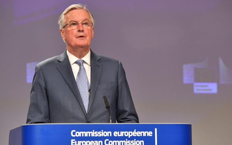 Michel Barnier is at odds with David Frost, his UK counterpart. - Bloomberg
