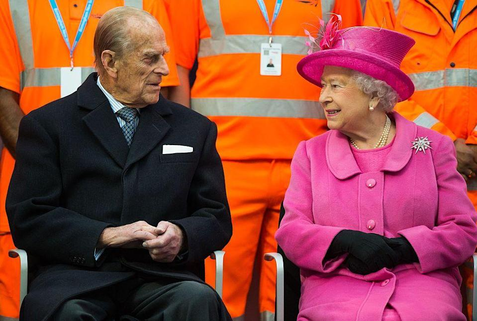 <p>The day before their 68th anniversary, Queen Elizabeth II and Prince Philip visited the newly redeveloped Birmingham New Street Station. They're spent their November 20 anniversary in Birmingham, in the English Midlands. </p>