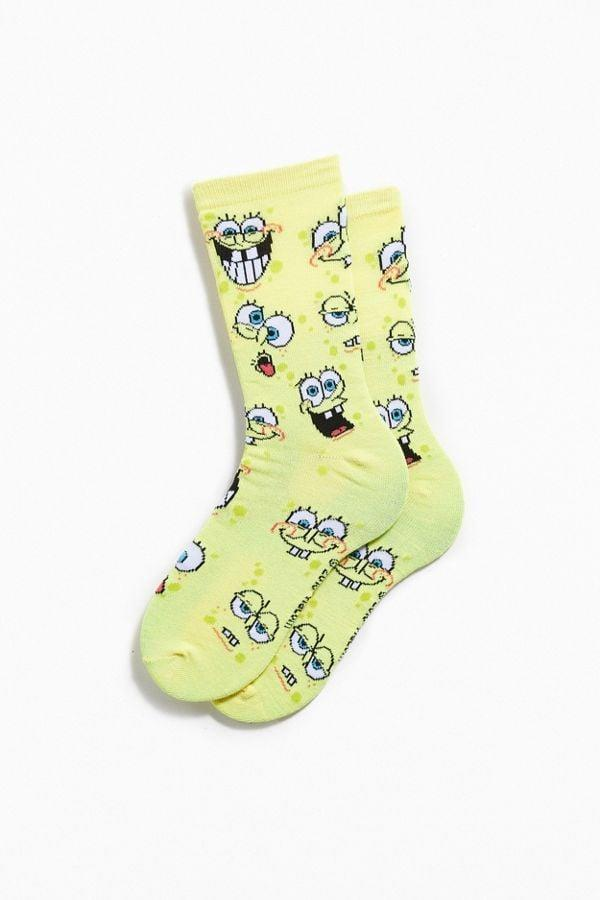 <p>A fan of the show will love these <span>SpongeBob SquarePants Face Socks</span> ($8).</p>