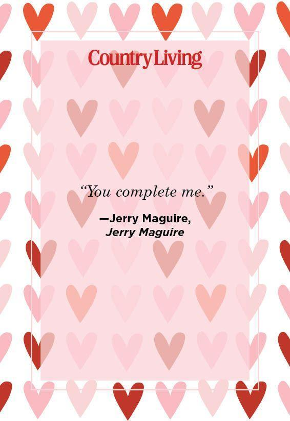"""<p>""""You complete me.""""</p>"""