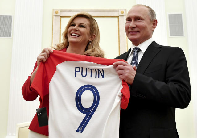 And Russian President Vladmir Putin