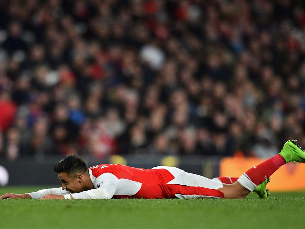 Alexis Sanchez was unable to deliver for Arsenal on this occasion (Getty)