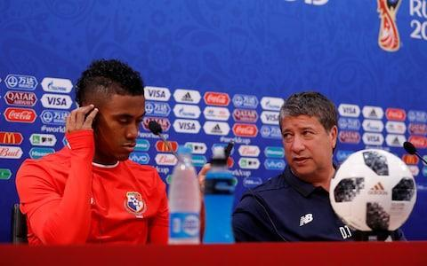"Panama's manager has denied that leaked England line-up or the sporadic use of video review at the World Cup will give his team an edge when they face the Three Lions on Sunday. ""It doesn't give me or afford me any advantage,"" Hernan Dario Gomez said after Gareth Southgate's starting XI were accidentally revealed. ""Each and every coach needs to make sure that they are 100 per cent prepared and ready regardless of the opponent, that players work well, know their football, keep up the good work, and from there go for the win."" Asked about Marcus Rashford being listed ahead of Raheem Sterling, he said ""it doesn't matter who plays because the other one is just as good"". Notes photographed in assistant manager Steve Holland's hand on Thursday suggested that Rashfort will start instead of Sterling, who drew a blank against Tunisia, and that Ruben Loftus-Cheek will take the place of injured Dele Alli. Regardless of the lineup, England have far more depth than newcomers Panama, who are playing in their first-ever World Cup after they beat Costa Rica with a ghost goal and the United States lost to Trinidad and Tobago. Manager Hernan Dario Gomez, right, and midfielder Edgar Barcenas during a press conference on Saturday Credit: Carlos Barria/Reuters On the other hand, Panama, the oldest squad in Russia, have already lost 0-3 to Belgium and will have the motivation of knowing that their tournament is over if England win. Midfielder Edgar Barcenas, who was seen in tears during a talk last week with the fierce Gomez, admitted the team suffered some ""stage fright"" during the Belgium match but would try ""to enjoy things because that's the way you play"". World Cup 2018 Simulator Single Game Although the team are making their debut, their manager has the experience of coaching both Colombia and Ecuador in his four previous World Cups. Gomez has seen his share of adversity: He was Colombia assistant when Andres Escobar was assassinated after an own goal in 1994 and was even shot himself after dropping the president's son from the Ecuador youth team in 2001. Then Panama midfielder Amilcar Henriquez was shot to death outside his home last year during the qualification phase for this tournament, a loss that Gomez said ""hurt us a lot"". Family members place Amilcar Henriquez's national team jersey over his coffin after he was gunned down Credit: Arnulfo Franco/AP He was also asked about the video assistance referee introduced at this World Cup, which has drawn controversy yet again after two Swiss defenders held Aleksandr Mitrovic in the box with impunity during their victory over Serbia on Friday night. Gomez cited the incident as evidence of how problematic VAR can be and claimed it didn't factor into his game plan. ""I don't give any specific instructions. We like to play hard,"" he said. ""I'm not dwelling on VAR at all, maybe others it affects their style of play but not us."" England may well be concerned, however, after striker Harry Kane was wrestled to the ground in the area without a penalty during the match with Tunisia. Harry Kane fights for a ball during the match with Tunisia in Volgograd Credit: Gleb Garanich/Reuters Panama are known as a physical team and are expected to commit fouls to slow down a squad that Gomez openly admitted are faster than his own. He said Panama would focus on England's top players, although he refused to name anyone in particular. ""We know these star players, we can't give them any space,"" Gomez said. ""There's only one ball on pitch and we're going to fight for it, we're not going to let them pass it around too much."" He admitted that England was one of his favourite sides and ""a very beautiful and well organised team"": ""We're going to be facing once again a rival that's excellent, that's better than us, and we need to try to keep him tied up."" WorldCup - newsletter promo - end of article World Cup 2018 