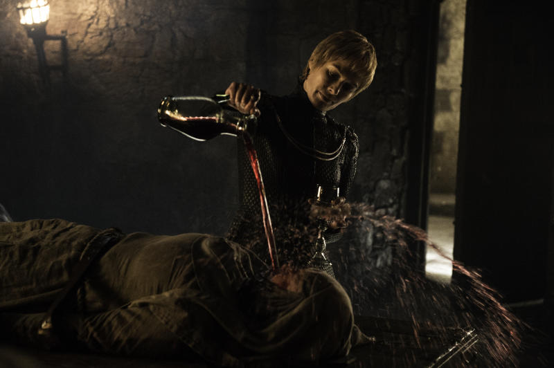 Lena Headey as the vengeful Cersei Lannister in Game of Thrones'