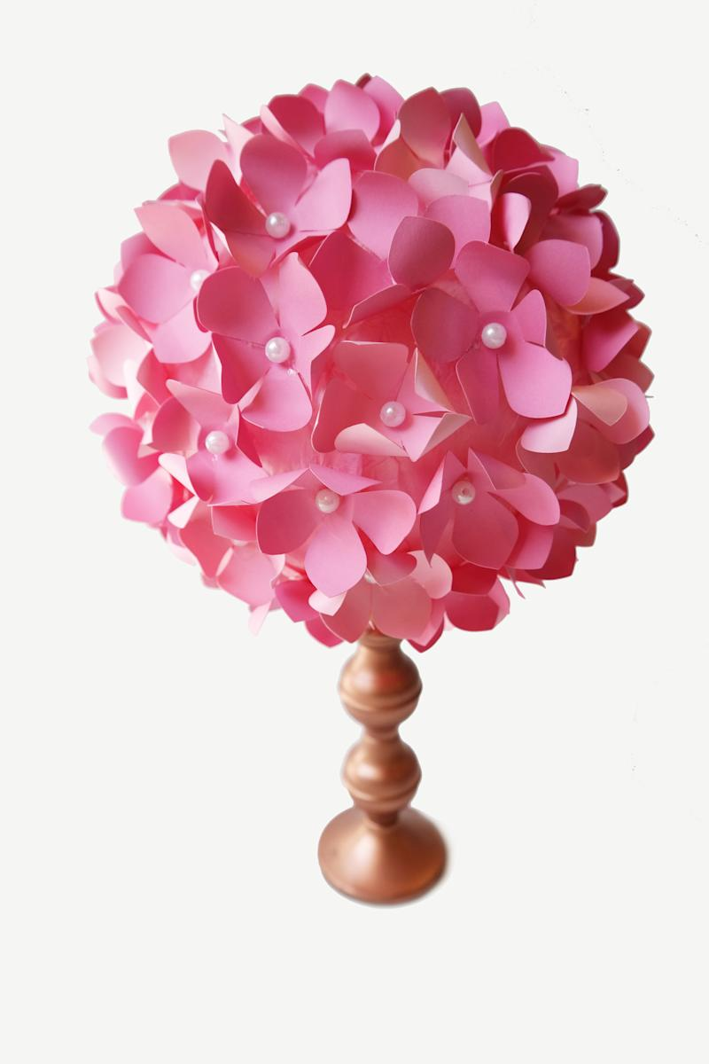 Incredible How To Make Diy Paper Flower Pom Wedding Centerpieces Interior Design Ideas Gentotryabchikinfo