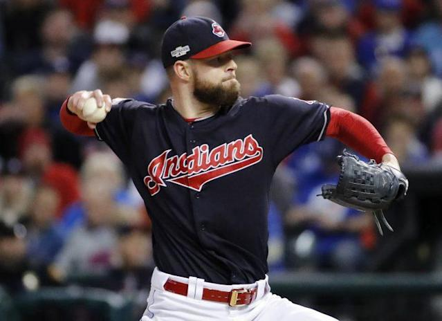 The Indians pitching staff has let them down early. (AP Photo)