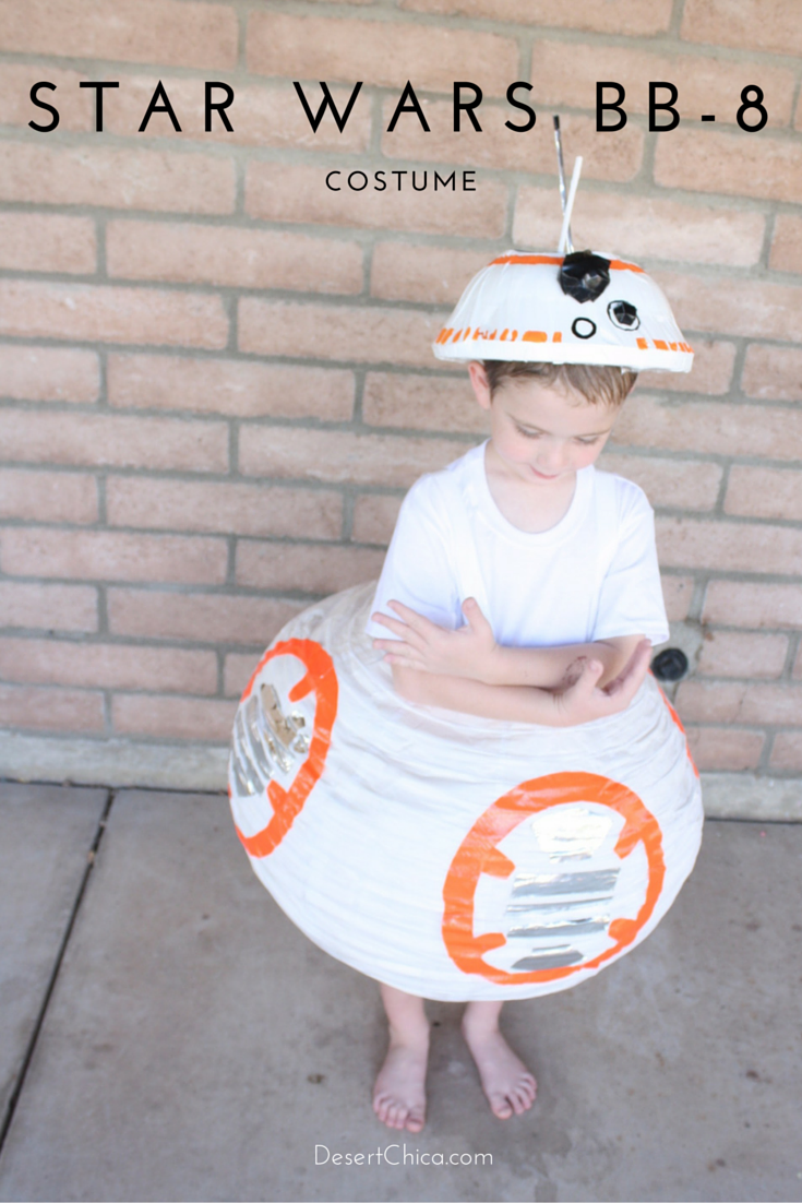 """<p>Or for a kid version, here's this DIY involving a paper lantern.</p><p><strong>Get the tutorial at <a href=""""https://desertchica.com/star-wars-bb-8-costume/"""" rel=""""nofollow noopener"""" target=""""_blank"""" data-ylk=""""slk:Desert Chica"""" class=""""link rapid-noclick-resp"""">Desert Chica</a>.</strong></p><p><strong><a class=""""link rapid-noclick-resp"""" href=""""https://www.amazon.com/gp/product/B0026XVQ3Y?tag=syn-yahoo-20&ascsubtag=%5Bartid%7C10050.g.21287723%5Bsrc%7Cyahoo-us"""" rel=""""nofollow noopener"""" target=""""_blank"""" data-ylk=""""slk:SHOP PAPER LANTERN"""">SHOP PAPER LANTERN</a></strong></p>"""
