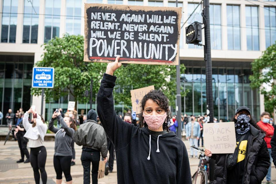 "<p>""Never again"" will she be silent against injustice, a protester vows.</p>"