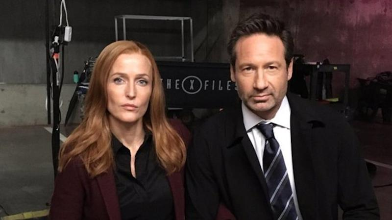 'X-Files' Stars Join Growing List Of Celebrities Taking A Knee