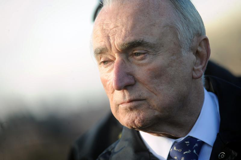 Bill Bratton pictured while Officers of the NYPD's newly-rebuilt Strategic Response Group conducted drills on Randall's Island -on December 16, 2015 in New York. Credit: Dennis Van Tine/MediaPunch/IPX