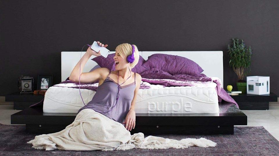 The Purple is an unusual and exceptional mattress.