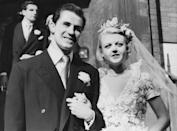 <p>English-born actress Angela Lansbury met her second and final husband, Peter Shaw, at a party held by fellow actor Hurd Hatfield in 1946. After first moving in together, they married on August 12, 1949, at the Chapel of St. Columba's Church House in Lennox Gardens, Kensington, London. The duo had two children and stayed together until Shaw's death in 2003, making them one of the longest-lasting husband-and-wife pairs in Hollywood history.</p>
