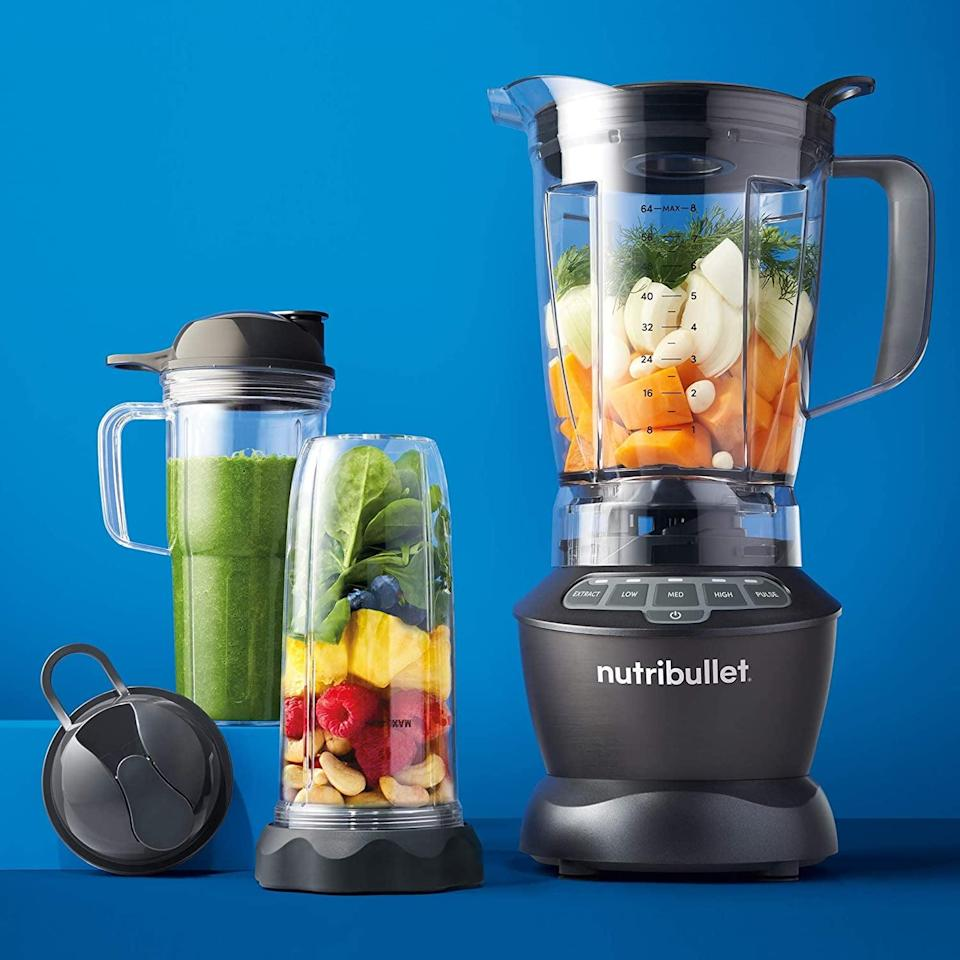 <p>Smoothies, soups, sauces, nut butters and beyond, the <span>NutriBullet Blender Combo</span> ($124, originally $150) can handle it all. It's an appliance every new chef will use for those pureés and more.</p>
