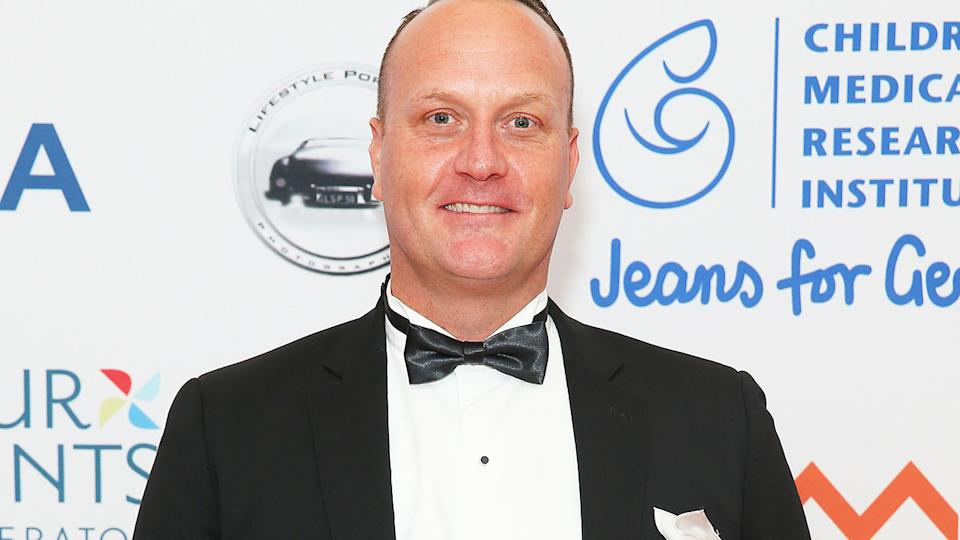 Daniel Kowalski, pictured here at the Jeans For Genes Excellence Ball in 2016.