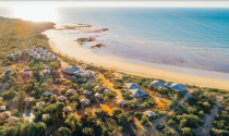 """A multi-award winning eco resort, <a href=""""https://www.expedia.co.in/Broome-Hotels-Ramada-Eco-Beach-Resort.h2959475.Hotel-Information"""" rel=""""nofollow noopener"""" target=""""_blank"""" data-ylk=""""slk:Eco Beach Resort"""" class=""""link rapid-noclick-resp"""">Eco Beach Resort</a> Broome is set within the beautiful Kimberley environment. Offering travellers an unforgettable and unique experience, there's something to offer everyone in the family. Photo: Supplied/Expedia"""