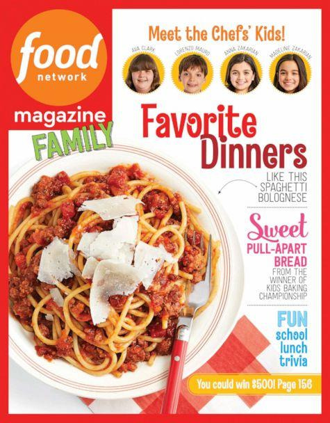 """PHOTO: Food Network Magazine special """"Family"""" mini-magazine is guest-edited by the kids of Food Network stars.<p>(Food Network Magazine)"""