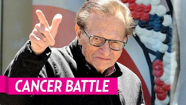 Larry King Opens Up About His Cancer Battle