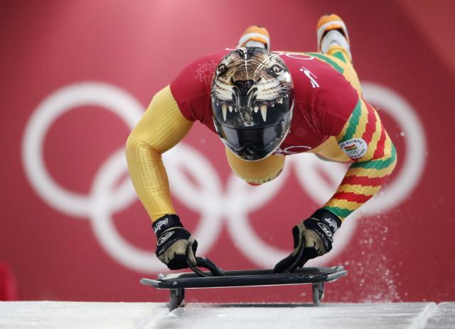 <p>Akwasi Frimpong of Ghana in action. REUTERS/Arnd Wiegmann </p>