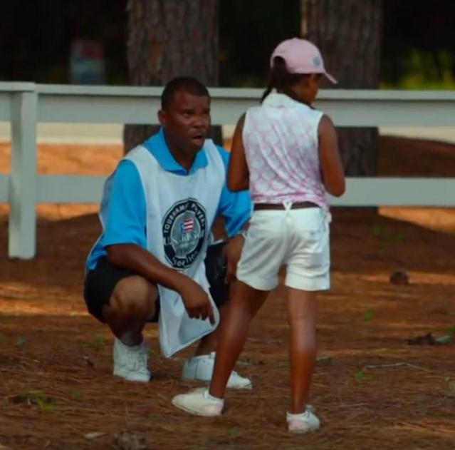 Amari (Tigress) Avery and her tough-love dad Andre were memorable characters in the 2013 documentary 'The Short Game.' Both have matured in the five years since