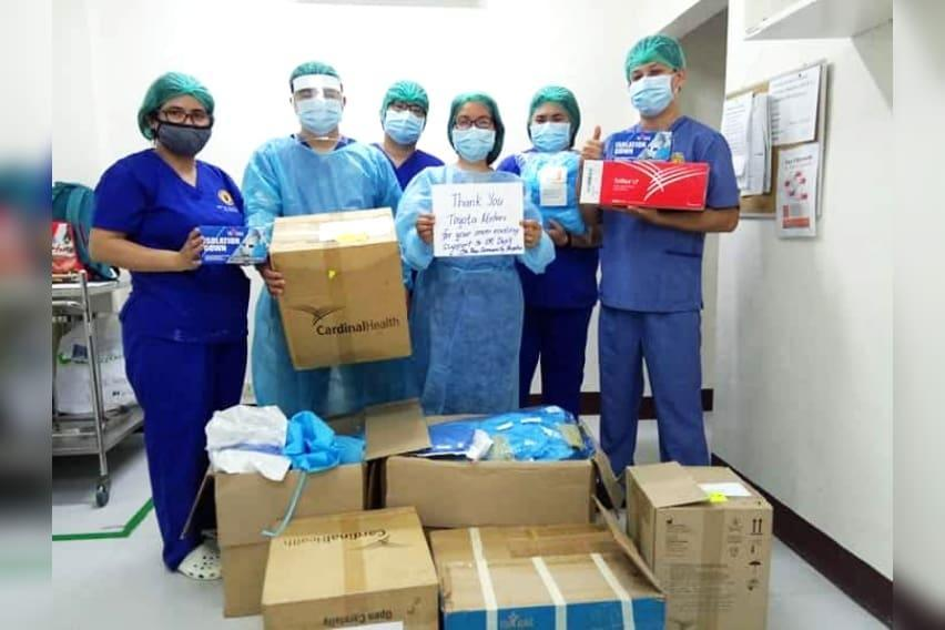 Santa-Rosa-Community-Hospital-receive-PPEs-from-TMPF