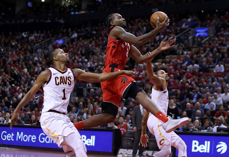 Kawhi Leonard made his debut with the Toronto Raptors a successful one as the Raptors beat Cleveland 116-104