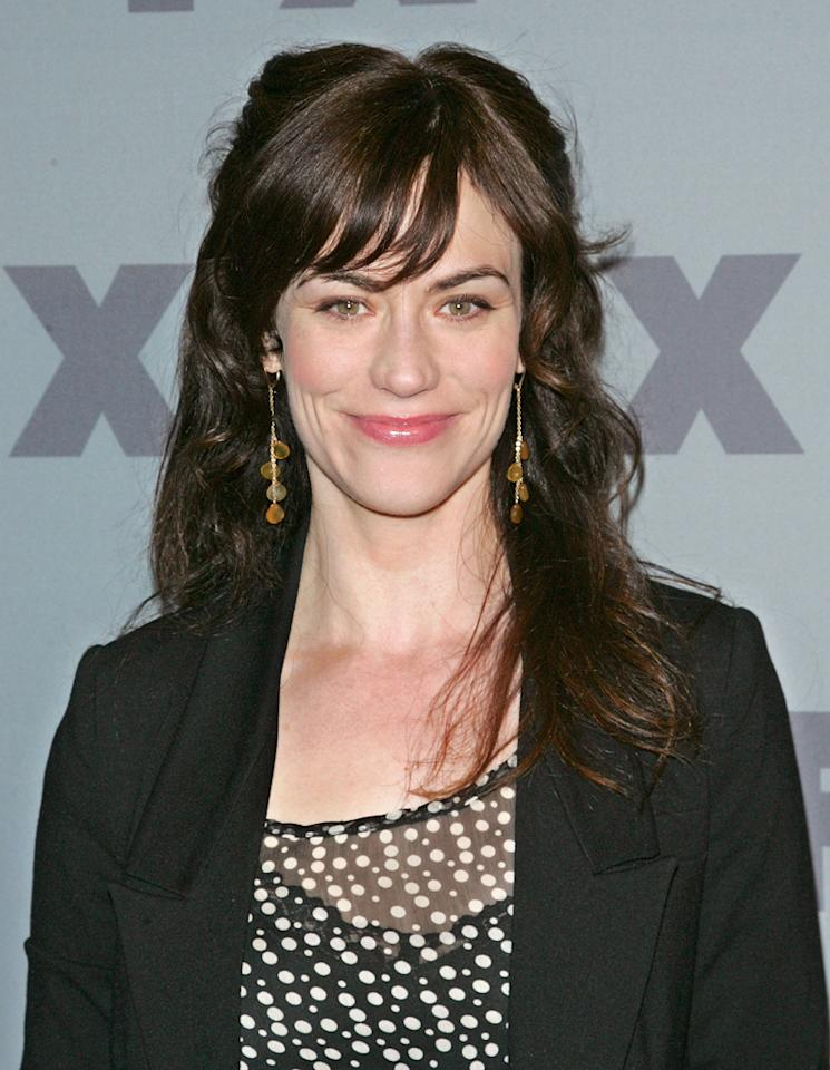 """Maggie Siff (""""<a href=""""http://tv.yahoo.com/sons-of-anarchy/show/40546"""">Sons of Anarchy</a>"""") attends FX's 2012 Upfronts at Lucky Strike on March 29, 2012 in New York City."""