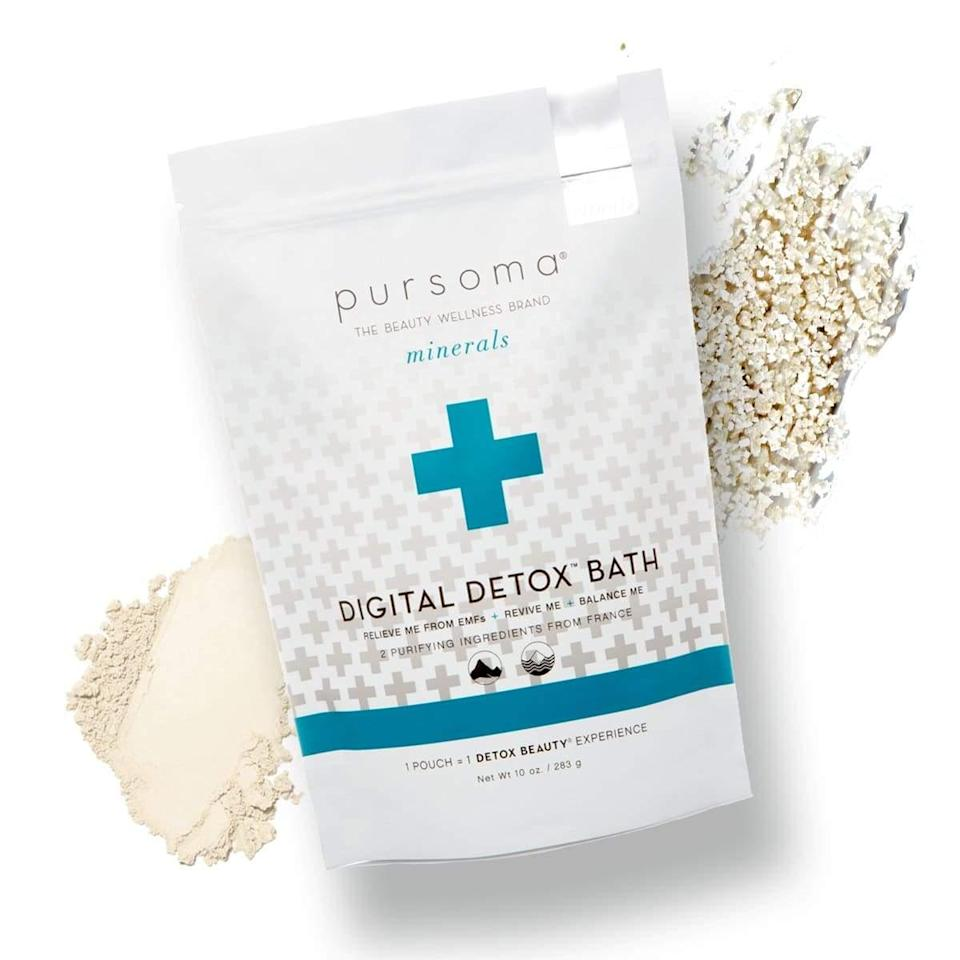 "<h3>Start With A Foot Soak</h3> <br>""We use Pursoma bath salts for our in-salon pedicures at Olive & June,"" Tuttle says. ""You can always buy cheap epsom salt to soak your feet at home, but the Pursoma mineral formula hydrates and soothes the feet, and will make your bathroom actually <a href=""https://www.refinery29.com/en-us/best-spa-beauty-gifts"" rel=""nofollow noopener"" target=""_blank"" data-ylk=""slk:smell like a spa"" class=""link rapid-noclick-resp"">smell like a spa</a>.""<br><br><strong>Pursoma</strong> Pursoma Digital Detox Bath, $, available at <a href=""https://go.skimresources.com/?id=30283X879131&url=https%3A%2F%2Fwww.anthropologie.com%2Fshop%2Fpursoma-digital-detox-bath2"" rel=""nofollow noopener"" target=""_blank"" data-ylk=""slk:Anthropologie"" class=""link rapid-noclick-resp"">Anthropologie</a><br>"