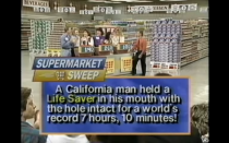 <p>During the 1990s version of the game show, host David Ruprecht would pose a question or trivia fact for the home audience before cutting to a commercial break. After the break, Ruprecht would reveal the answer.</p>