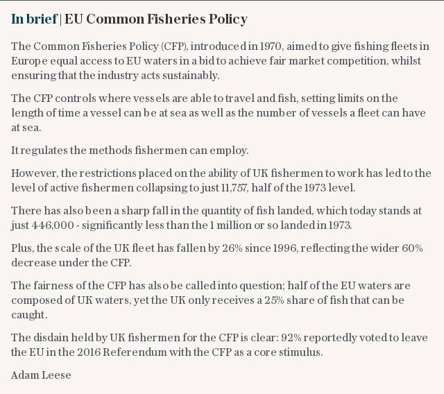 In brief | EU Common Fisheries Policy