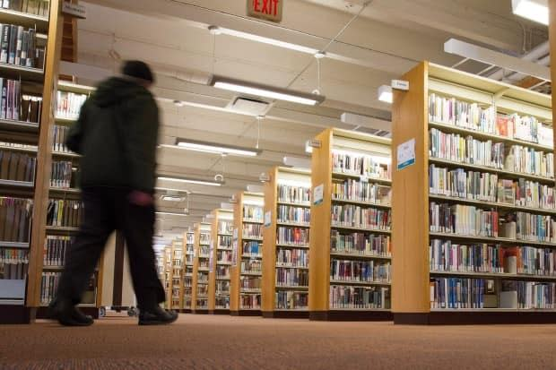 Libraries have been open more than other public places over the course of the pandemic and are often one of the only places for vulnerable people to go. (THE CANADIAN PRESS - image credit)