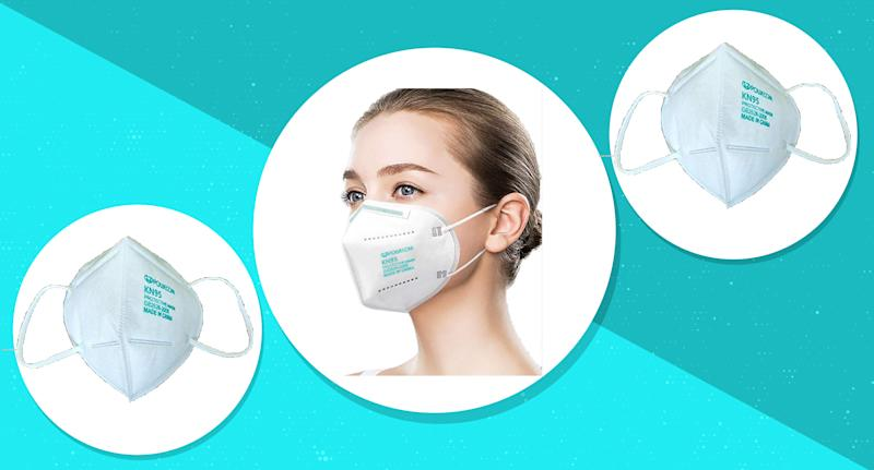 Powecome KN95 masks are FDA approved. (Photo: Amazon)