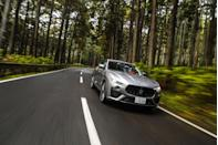 """<p>As the world patiently waits for Ferrari's first-ever crossover, Maserati offers the <a href=""""https://www.caranddriver.com/maserati/levante"""" rel=""""nofollow noopener"""" target=""""_blank"""" data-ylk=""""slk:Levante Trofeo"""" class=""""link rapid-noclick-resp"""">Levante Trofeo</a>. It isn't Italy's most powerful SUV, but it brings some impressive numbers to this party. Actually, there are two big-power versions of Maserati's first-ever SUV, and they're both powered by a twin-turbocharged 3.8-liter V-8 paired with an eight-speed automatic transmission. In the Levante GTS, the V-8 makes 550 horsepower and 538 lb-ft of torque. In the Levante Trofeo, the engine is cranked up to 590 ponies. In <a href=""""https://www.caranddriver.com/reviews/comparison-test/a15098561/2017-bentley-bentayga-vs-2016-land-rover-range-rover-svautobiography-comparison-test/"""" rel=""""nofollow noopener"""" target=""""_blank"""" data-ylk=""""slk:our testing"""" class=""""link rapid-noclick-resp"""">our testing</a>, the GTS reached 60 mph in just 3.7 seconds, while the Trofeo did it in 3.5.</p><p><a class=""""link rapid-noclick-resp"""" href=""""https://www.caranddriver.com/maserati/levante/specs"""" rel=""""nofollow noopener"""" target=""""_blank"""" data-ylk=""""slk:MORE LEVANTE TROFEO SPECS"""">MORE LEVANTE TROFEO SPECS</a></p>"""