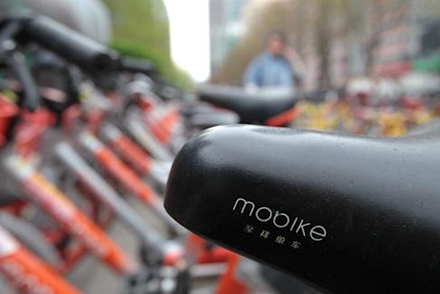 A Mobike bicycle in Beijing in 2018, before its takeover by Meituan. Photo: Simon Song