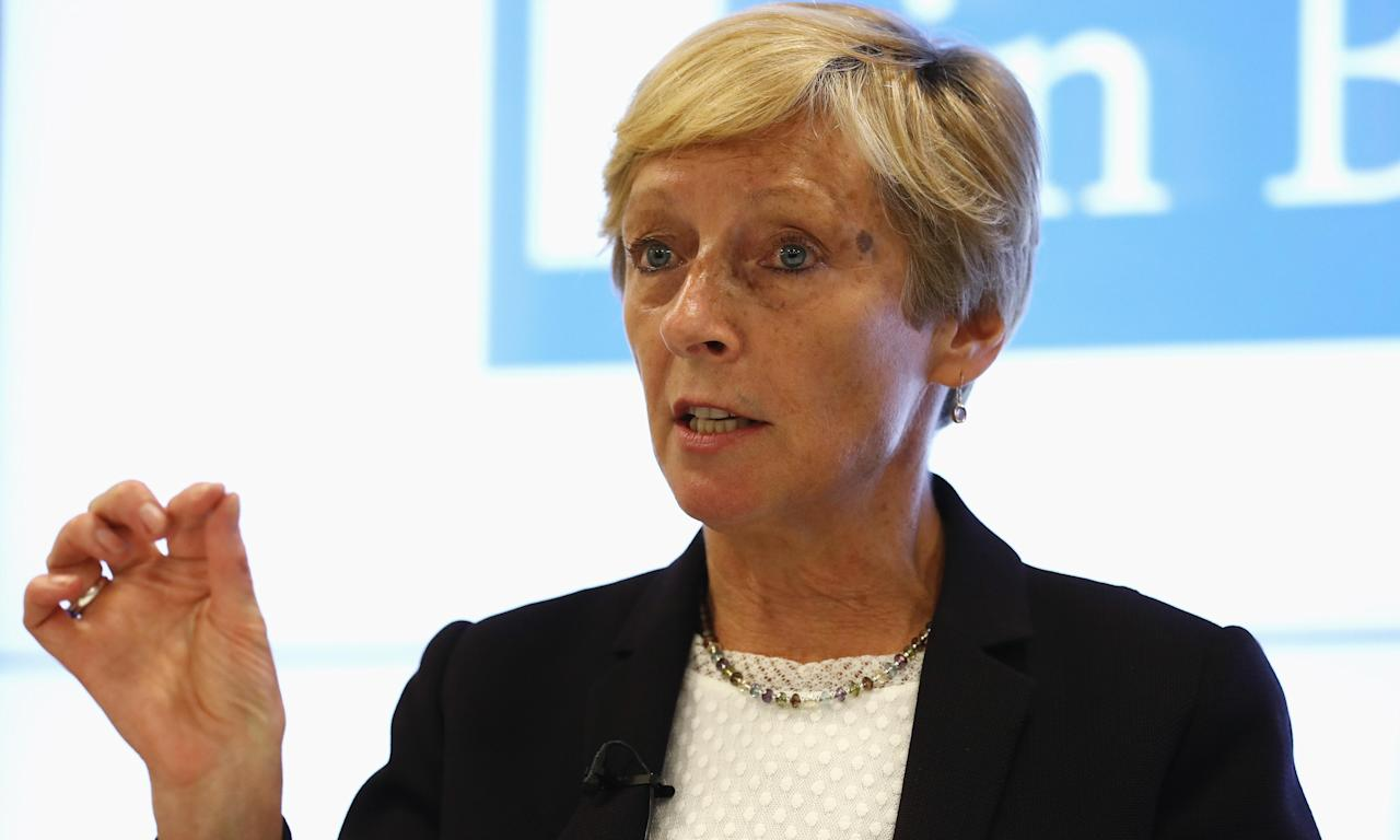 Liz Nicholl said UK Sport was unapologetic about its remit to deliver more Olympic medallists in Tokyo.
