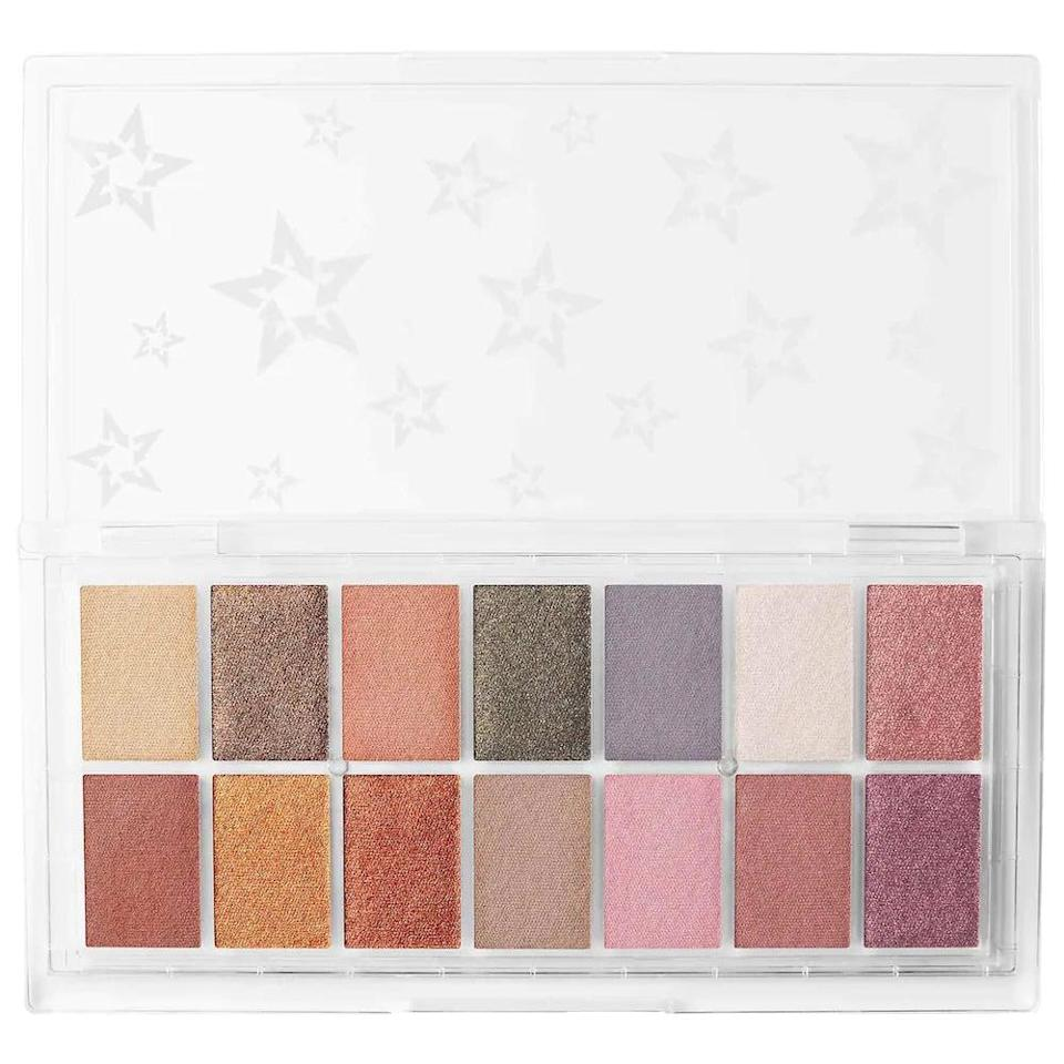 <p>Embrace pops of color with the <span>KVD Beauty Planet Fanatic Fully Recyclable Eyeshadow Palette</span> ($45).</p>