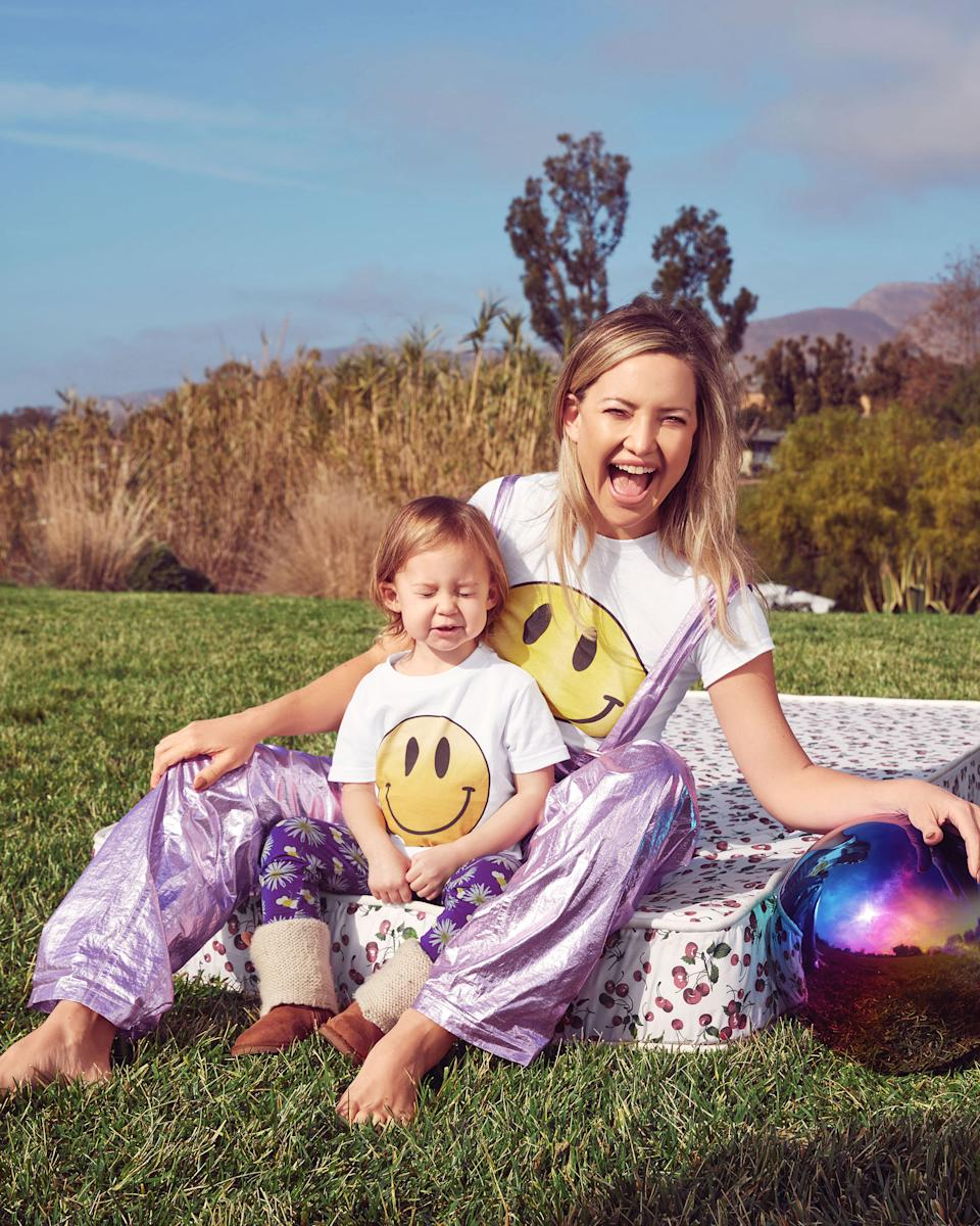 "Kate Hudson, depicted with her two-year-old daughter Rani Rose, appears on the March cover of ""InStyle."" (Photo: InStyle)"