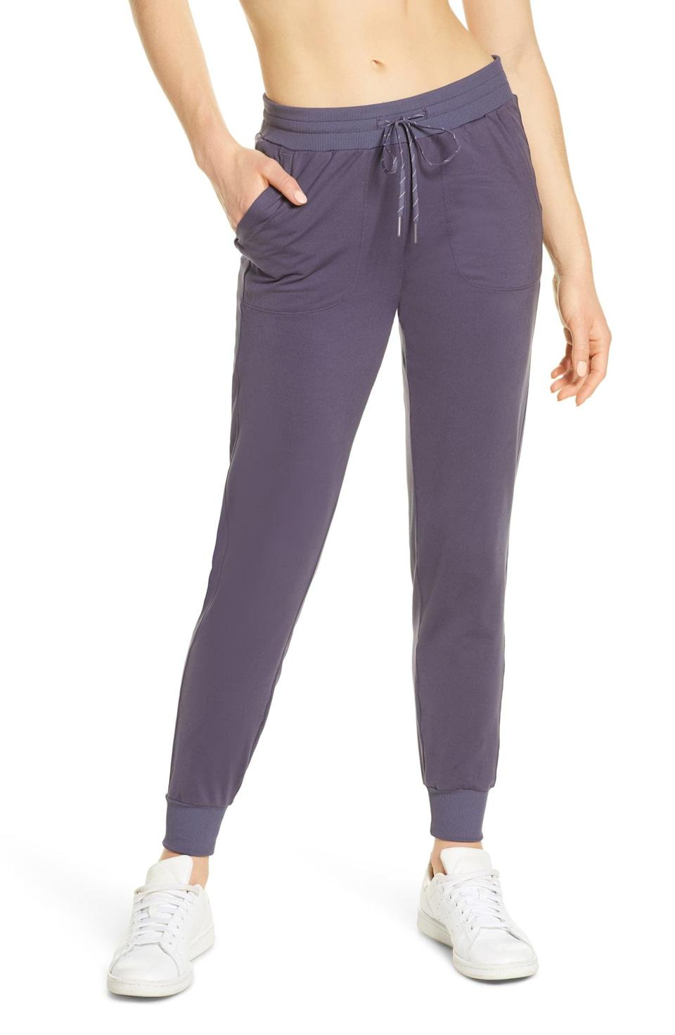 """<p>""""The name alone was enough to get me. Since we're still working from home, I do indeed live in these <span>Zella Live In Pocket Joggers</span> ($59). They're cute and cozy, and they can be dressed up or down. I love to pair them with slippers, sneakers, or just plain socks, and they also look cute with a half-zip jacket, T-shirt, or crop top. The styling options are endless!"""" - Lauren Harano, editorial assistant, Living</p>"""