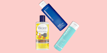 """<p><a href=""""https://www.goodhousekeeping.com/beauty/anti-aging/g32894759/best-toners/"""" rel=""""nofollow noopener"""" target=""""_blank"""" data-ylk=""""slk:Toners"""" class=""""link rapid-noclick-resp"""">Toners</a> get a bad rap for irritating skin. While it's true that the toners of yesteryear could contain stripping, drying ingredients, modern toners are formulated to help you achieve <a href=""""https://www.goodhousekeeping.com/beauty/anti-aging/a28541767/how-to-get-glowing-skin-tips/"""" rel=""""nofollow noopener"""" target=""""_blank"""" data-ylk=""""slk:glowing skin"""" class=""""link rapid-noclick-resp"""">glowing skin</a>. <a href=""""https://www.goodhousekeeping.com/author/12466/danusia-wnek/"""" rel=""""nofollow noopener"""" target=""""_blank"""" data-ylk=""""slk:Danusia Wnek"""" class=""""link rapid-noclick-resp"""">Danusia Wnek</a>, a chemist in the <a href=""""https://www.goodhousekeeping.com/institute/about-the-institute/a19748212/good-housekeeping-institute-product-reviews/"""" rel=""""nofollow noopener"""" target=""""_blank"""" data-ylk=""""slk:Good Housekeeping Institute"""" class=""""link rapid-noclick-resp"""">Good Housekeeping Institute</a> Beauty Lab, explains that<strong> toners can contain astringents like witch hazel or alcohol, which help temporarily minimize the appearance of pores</strong>, but they can also contain exfoliators like <a href=""""https://www.goodhousekeeping.com/beauty/anti-aging/a30933508/aha-vs-bha-skincare-benefits/"""" rel=""""nofollow noopener"""" target=""""_blank"""" data-ylk=""""slk:hydroxy acids"""" class=""""link rapid-noclick-resp"""">hydroxy acids</a> and moisturizing ingredients like glycerin or <a href=""""https://www.goodhousekeeping.com/health/wellness/a28322328/aloe-vera-gel-benefits/"""" rel=""""nofollow noopener"""" target=""""_blank"""" data-ylk=""""slk:aloe vera"""" class=""""link rapid-noclick-resp"""">aloe vera</a> to reduce any drying effects that come with astringents. </p><p>That's why toners can be a great option for anyone with <a href=""""https://www.goodhousekeeping.com/beauty/anti-aging/g27169923/adult-acne-treatment-causes/"""" rel=""""nofollow noopener"""" target=""""_blank"""" d"""